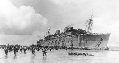 épaves SS président Coolidge; plongée en épaves