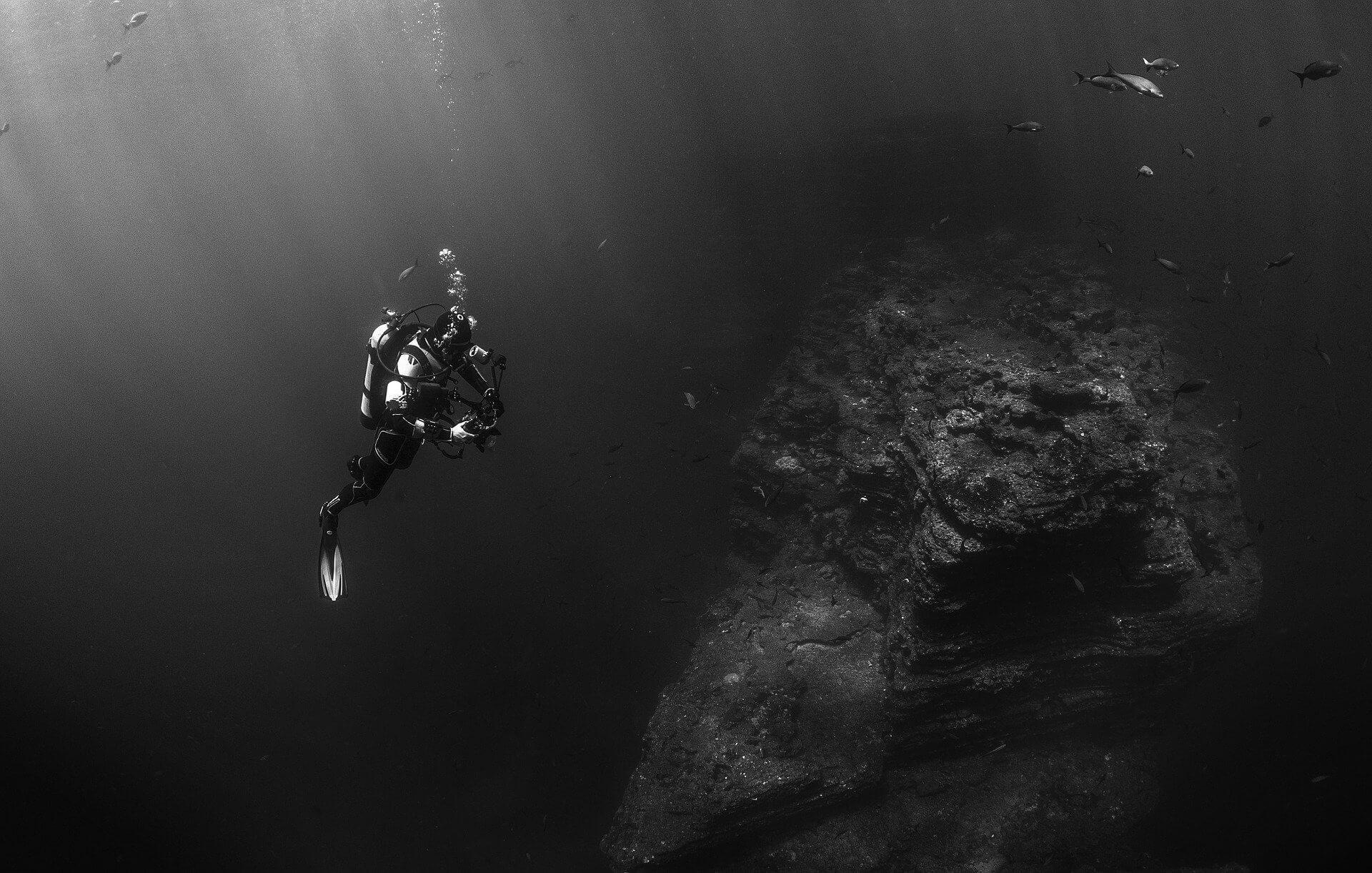 Plongeur en profondeur