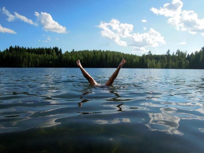 Baptême plongée nature